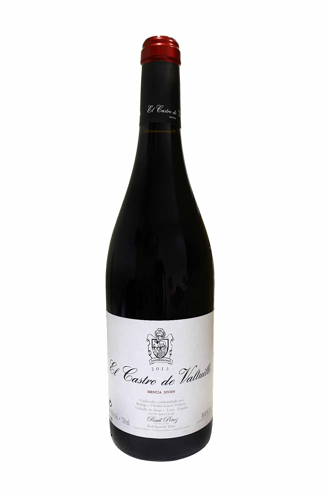 El Castro de Valtuille red wine