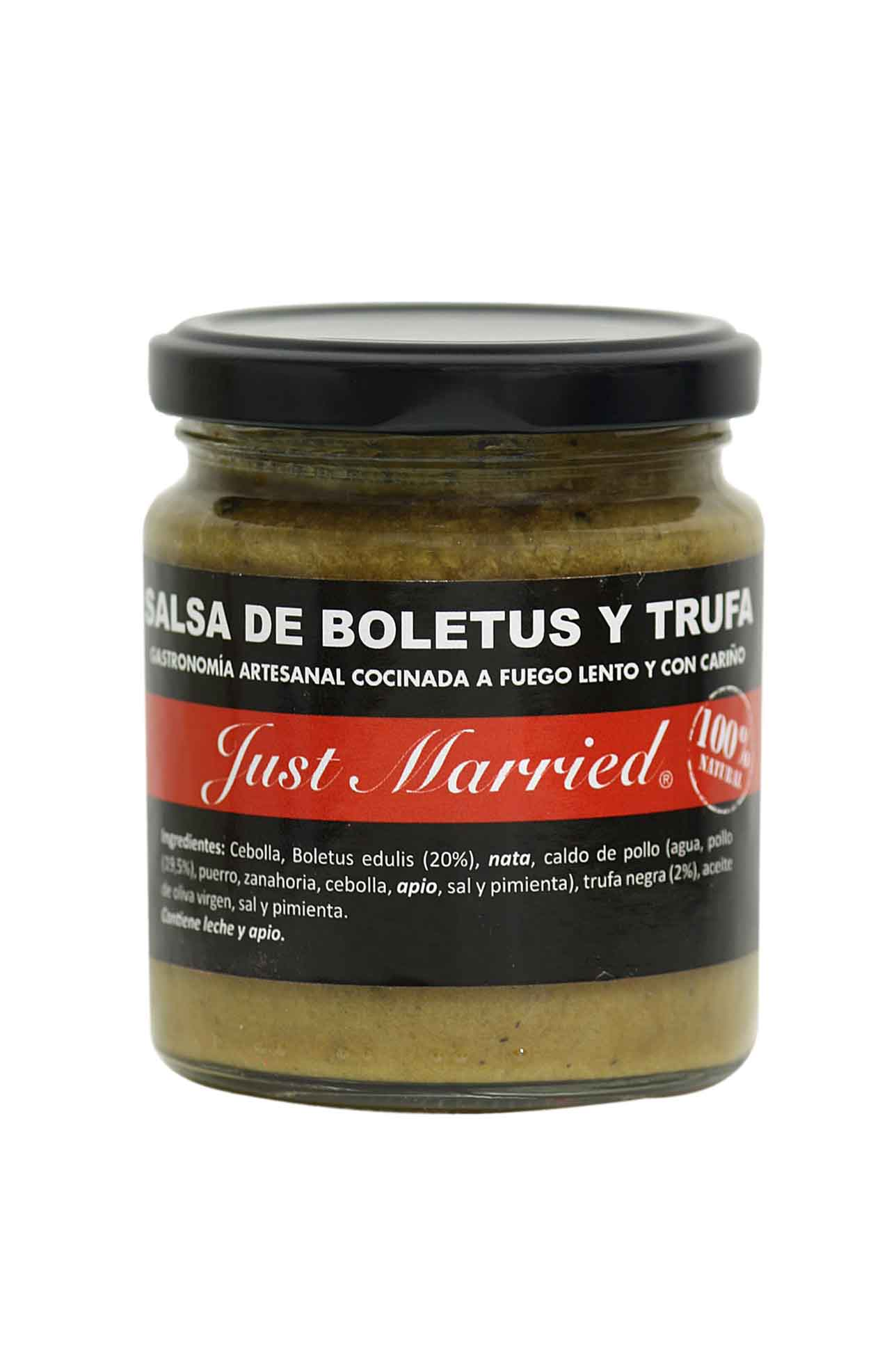 Salsa Boletus Y Trufa Just Married