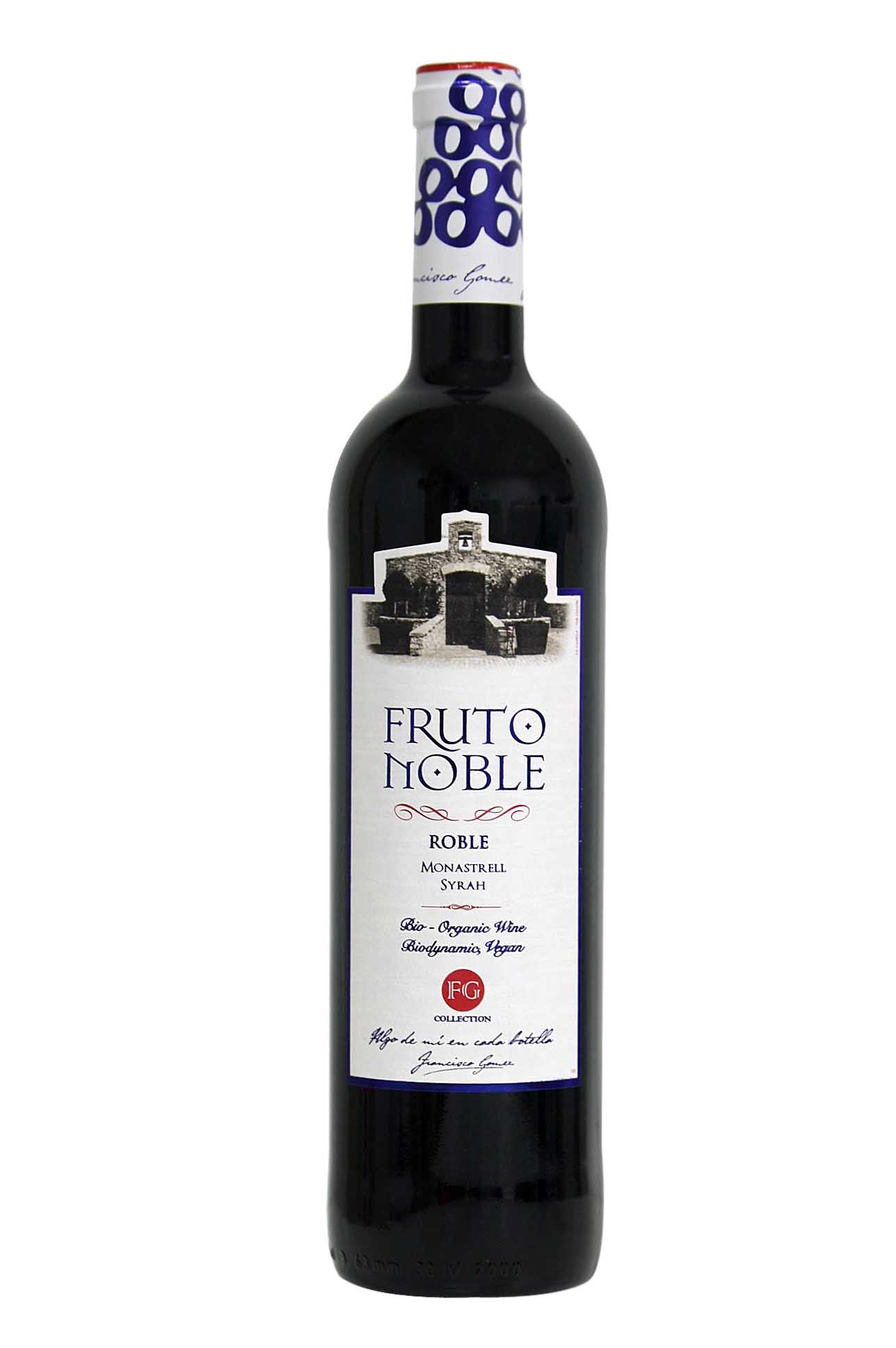Fruto noble organic red wine