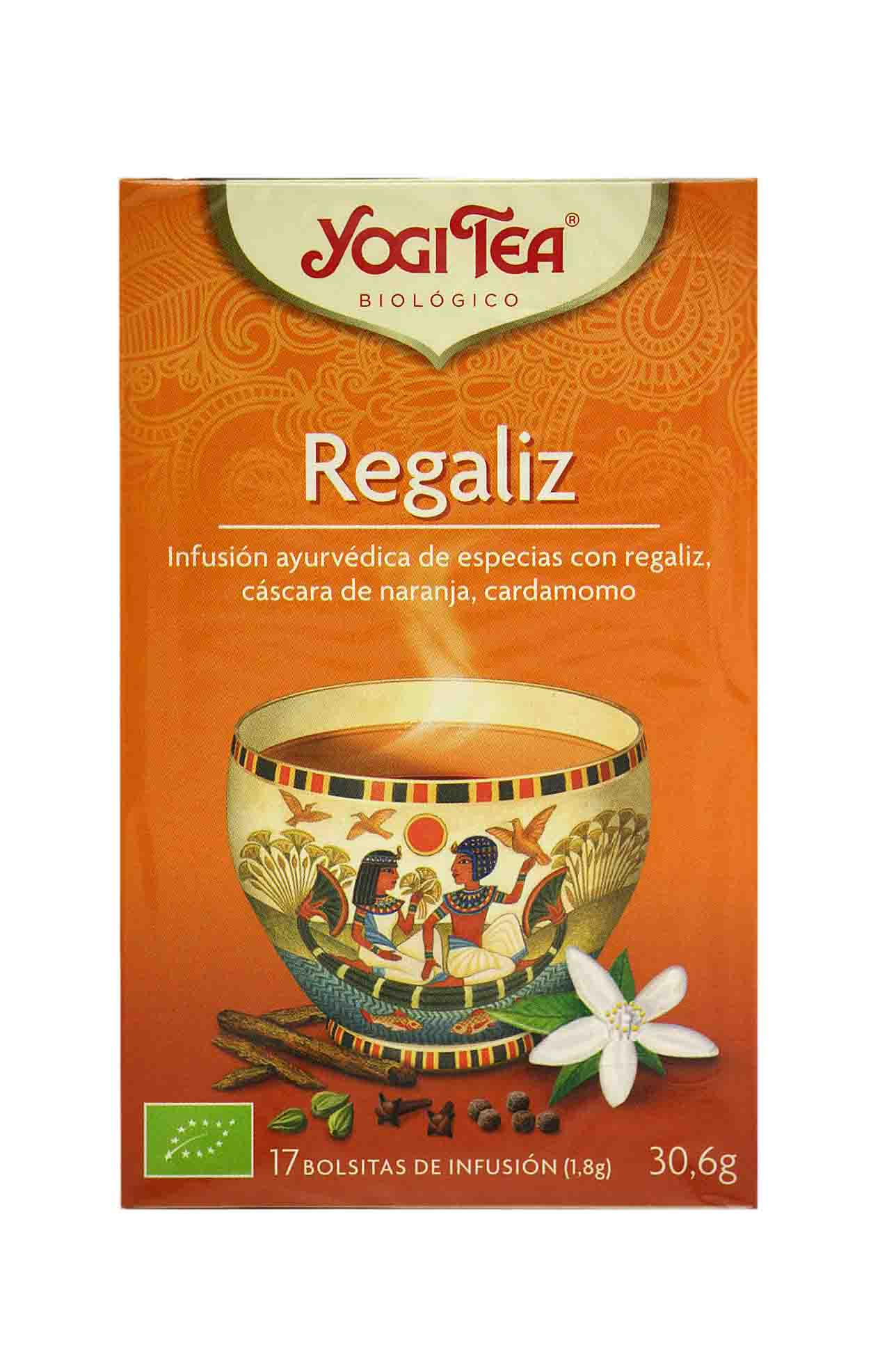 Yogui tea regaliz