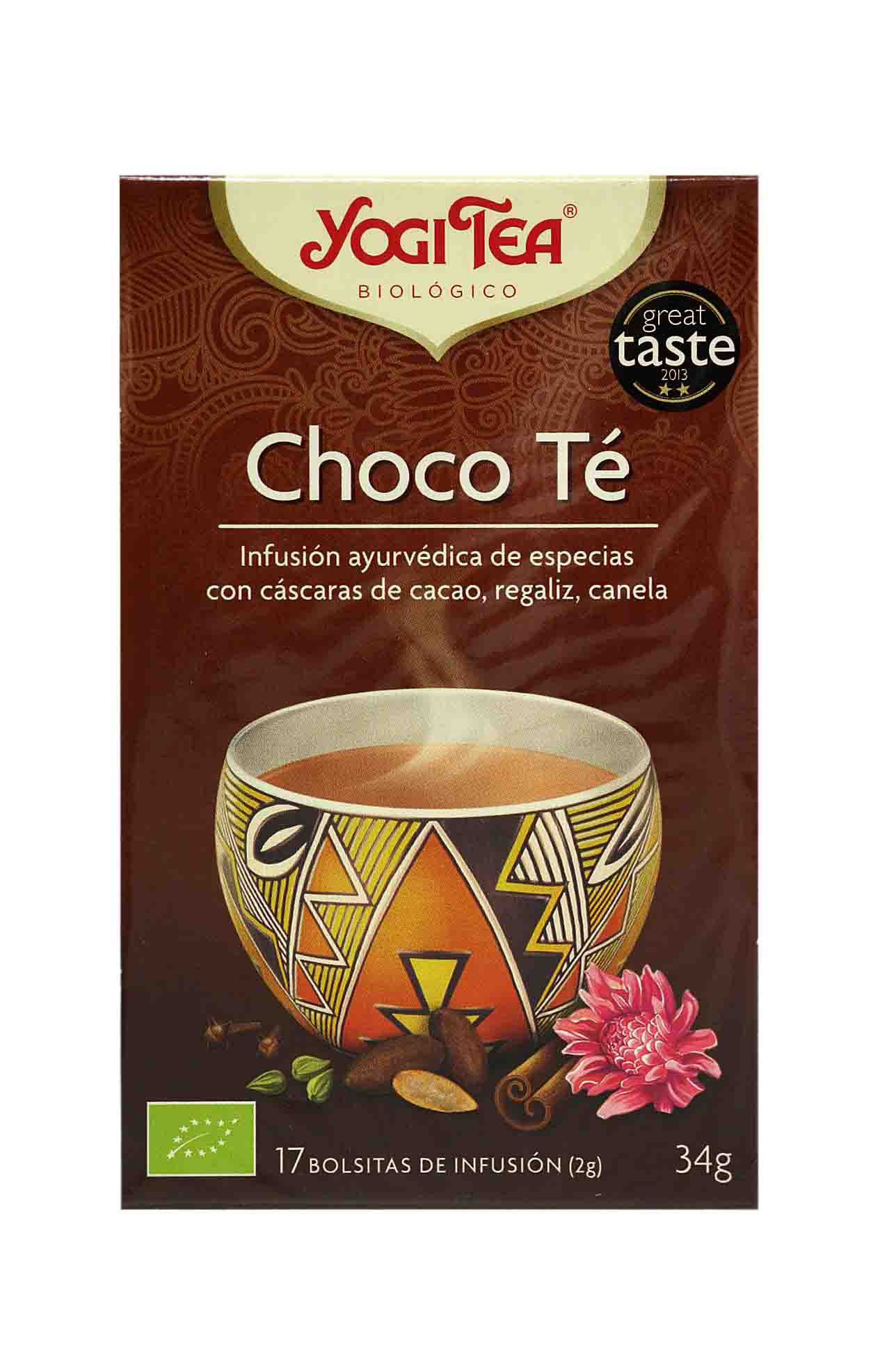 Yogui te chocolate