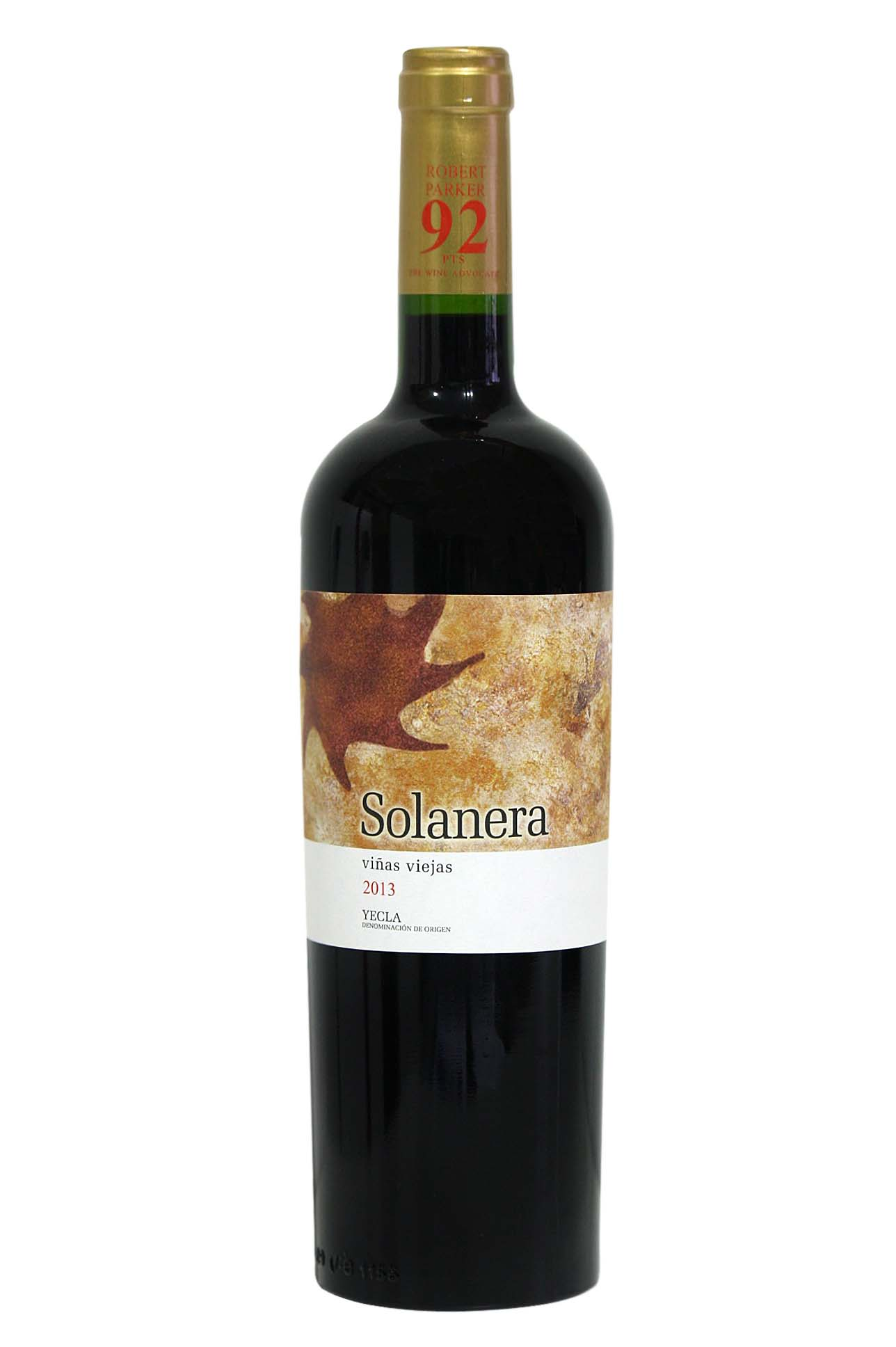 Solanera red wine