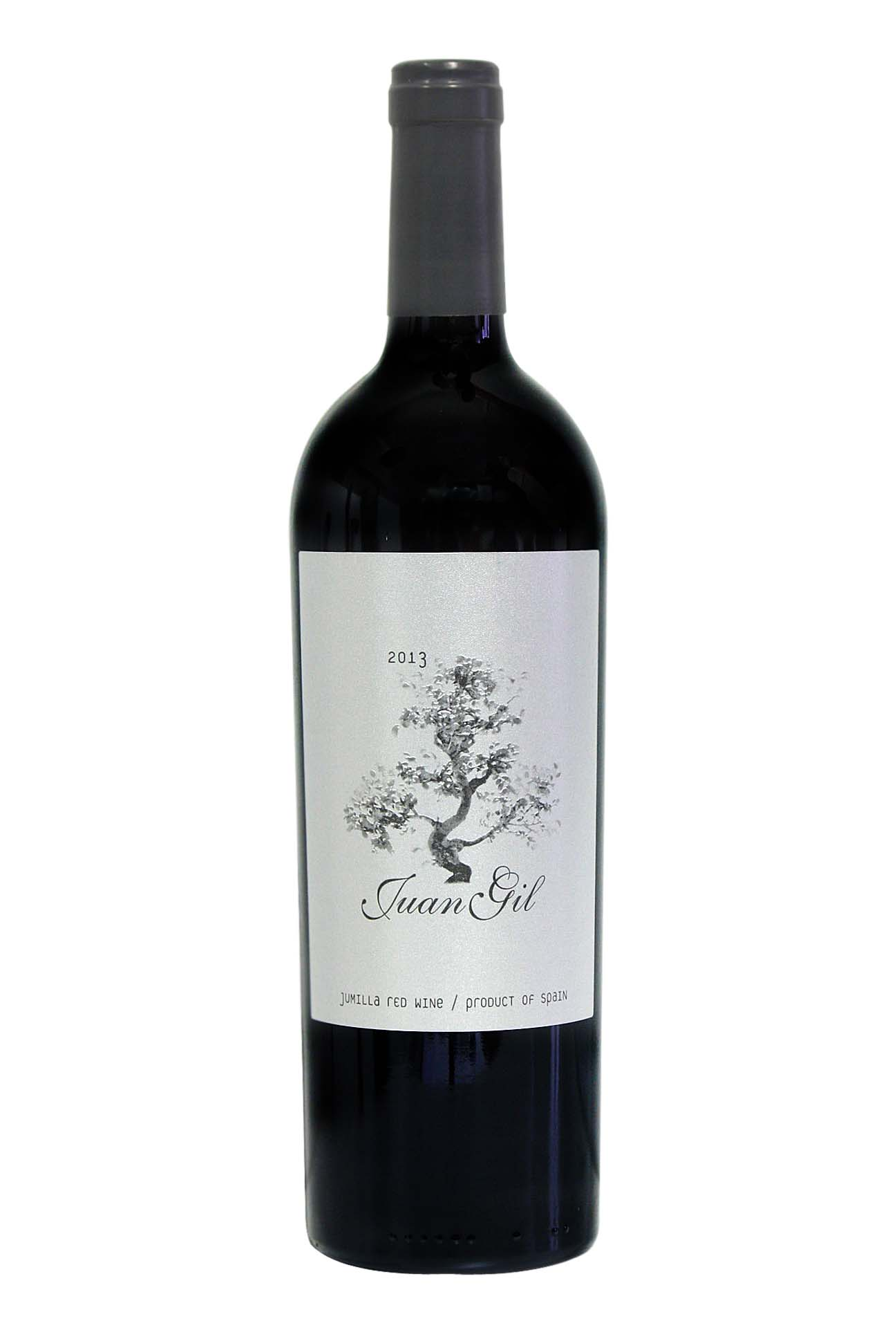 Juan Gil crianza red wine