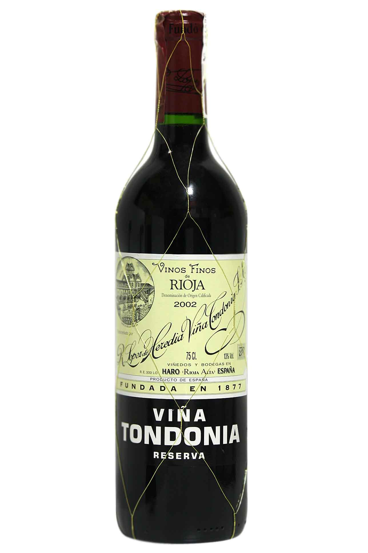 Aged red wine Viña Tondonia