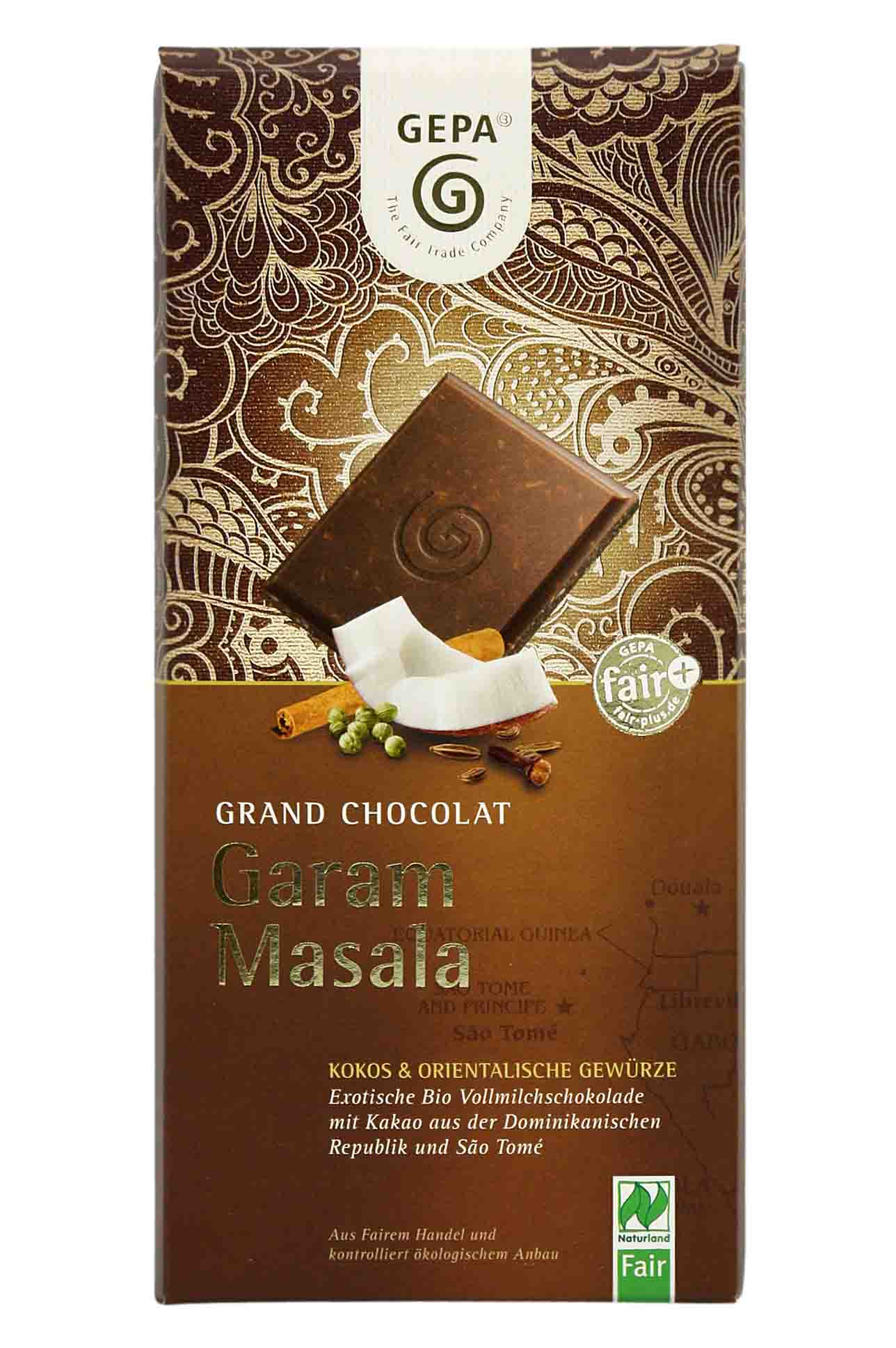 Garam masala chocolate