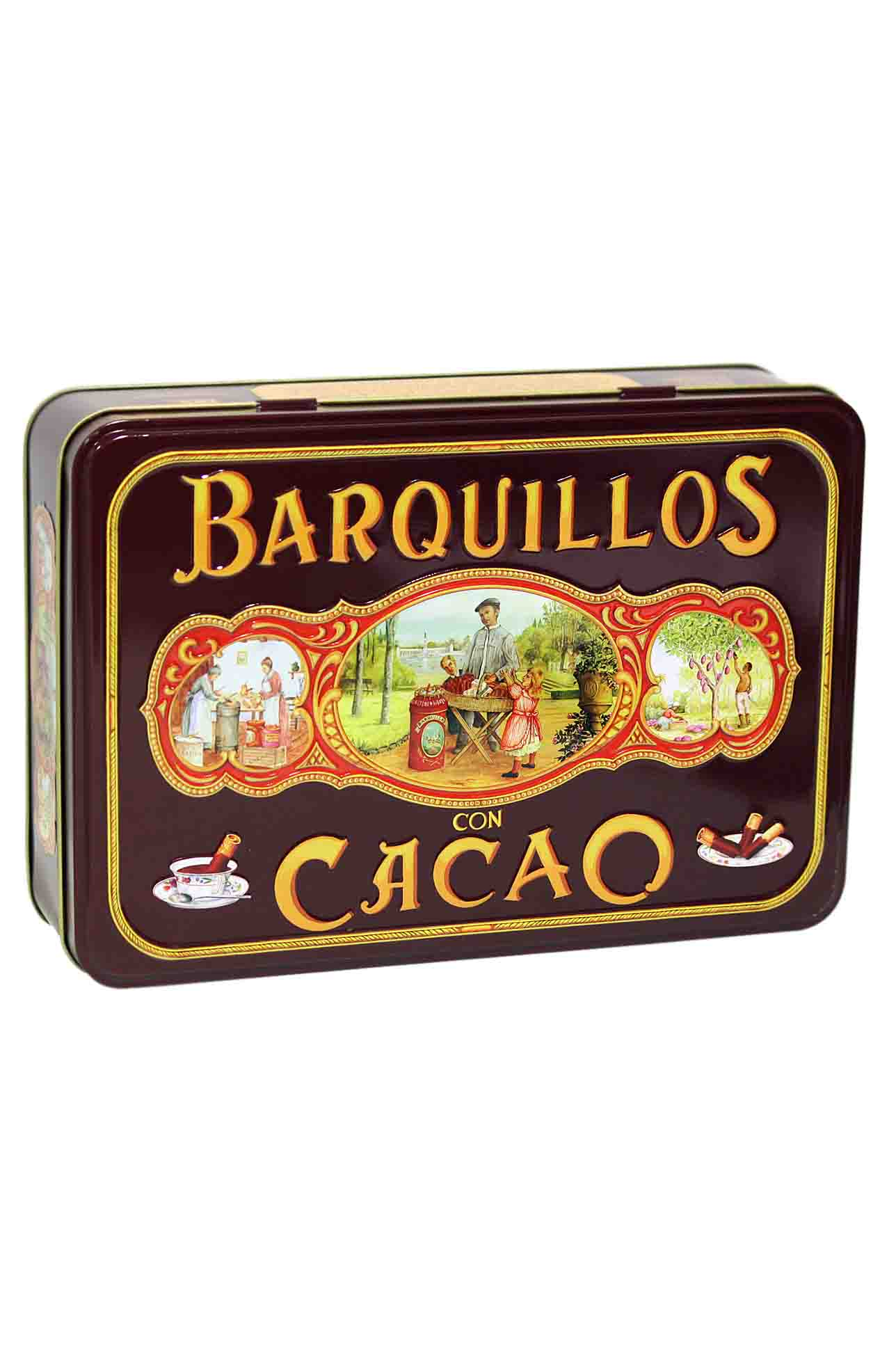 Barquillos con chocolate