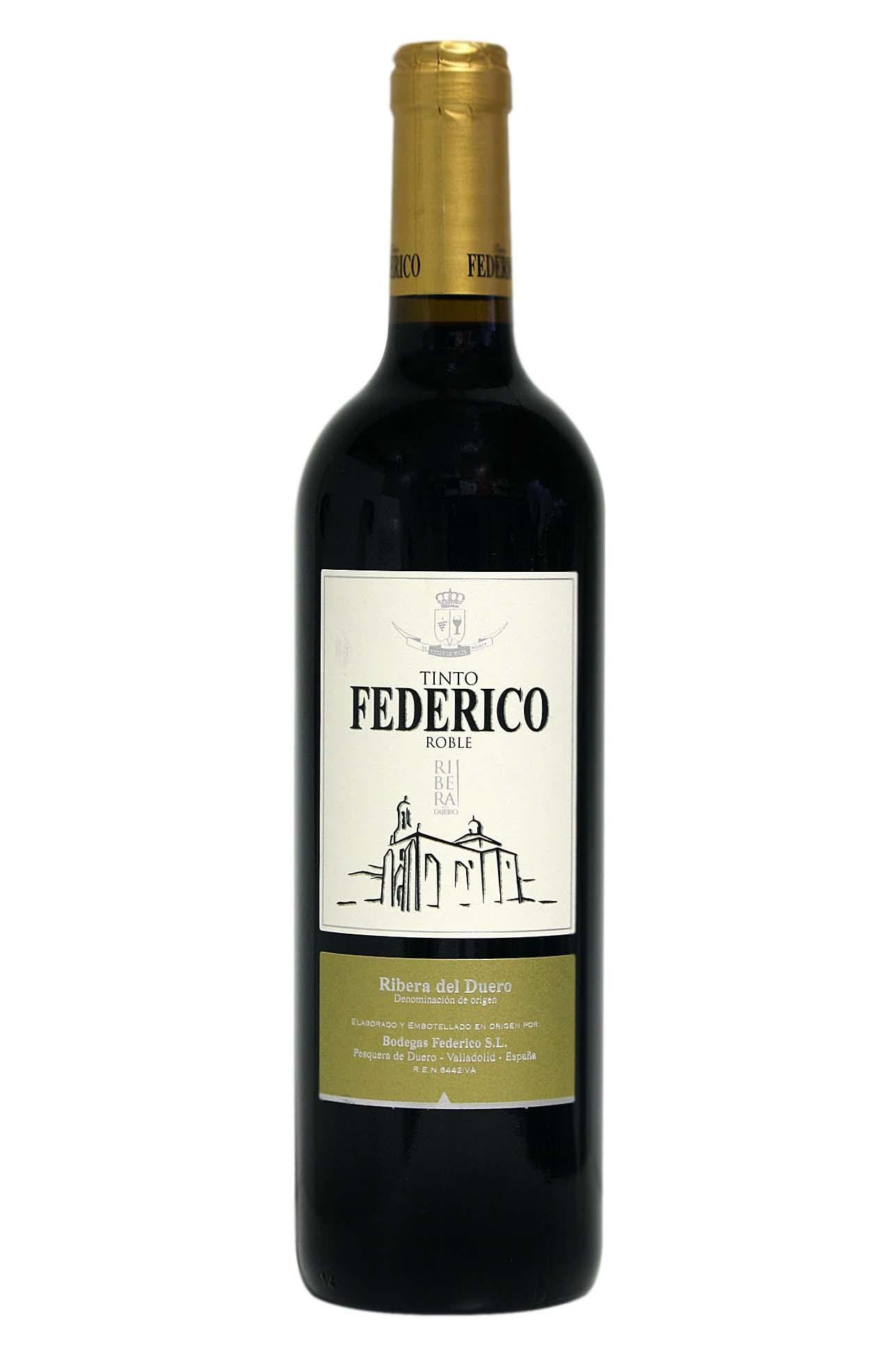 Red wine Federico oak