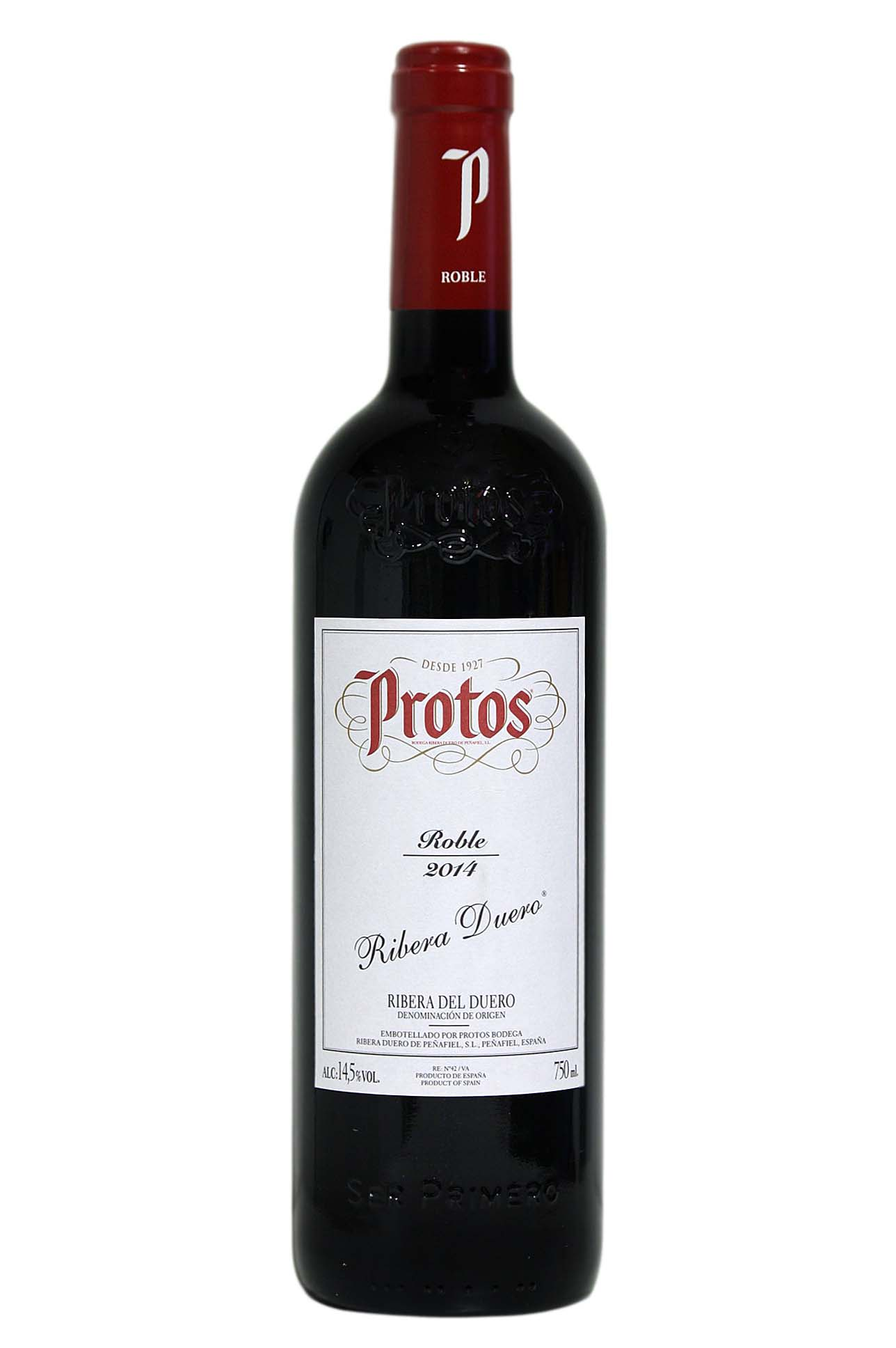 Red wine Protos oak
