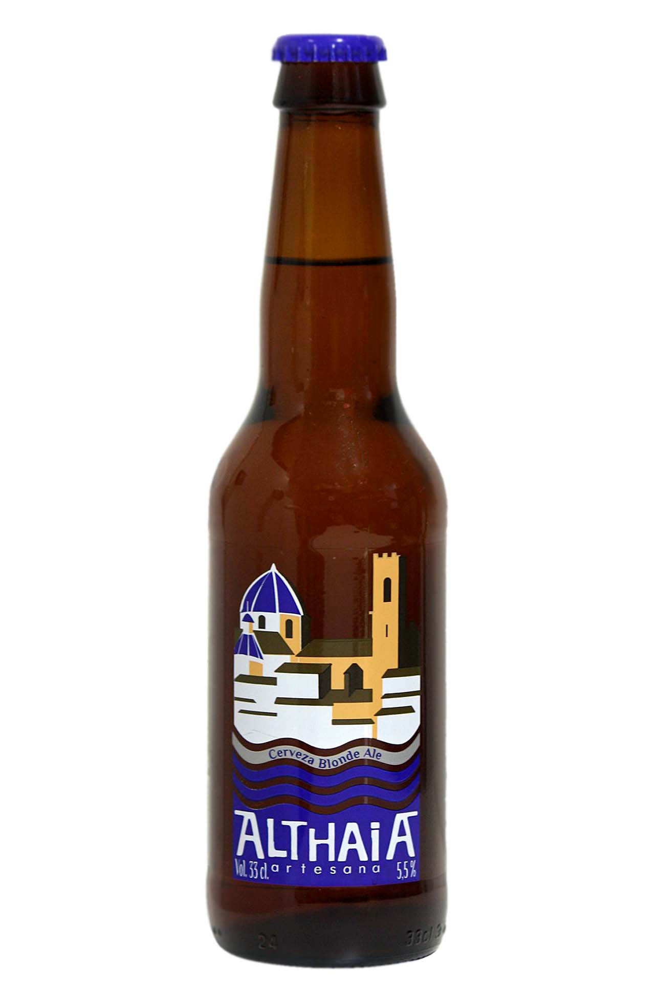 Altahia blonde ale beer