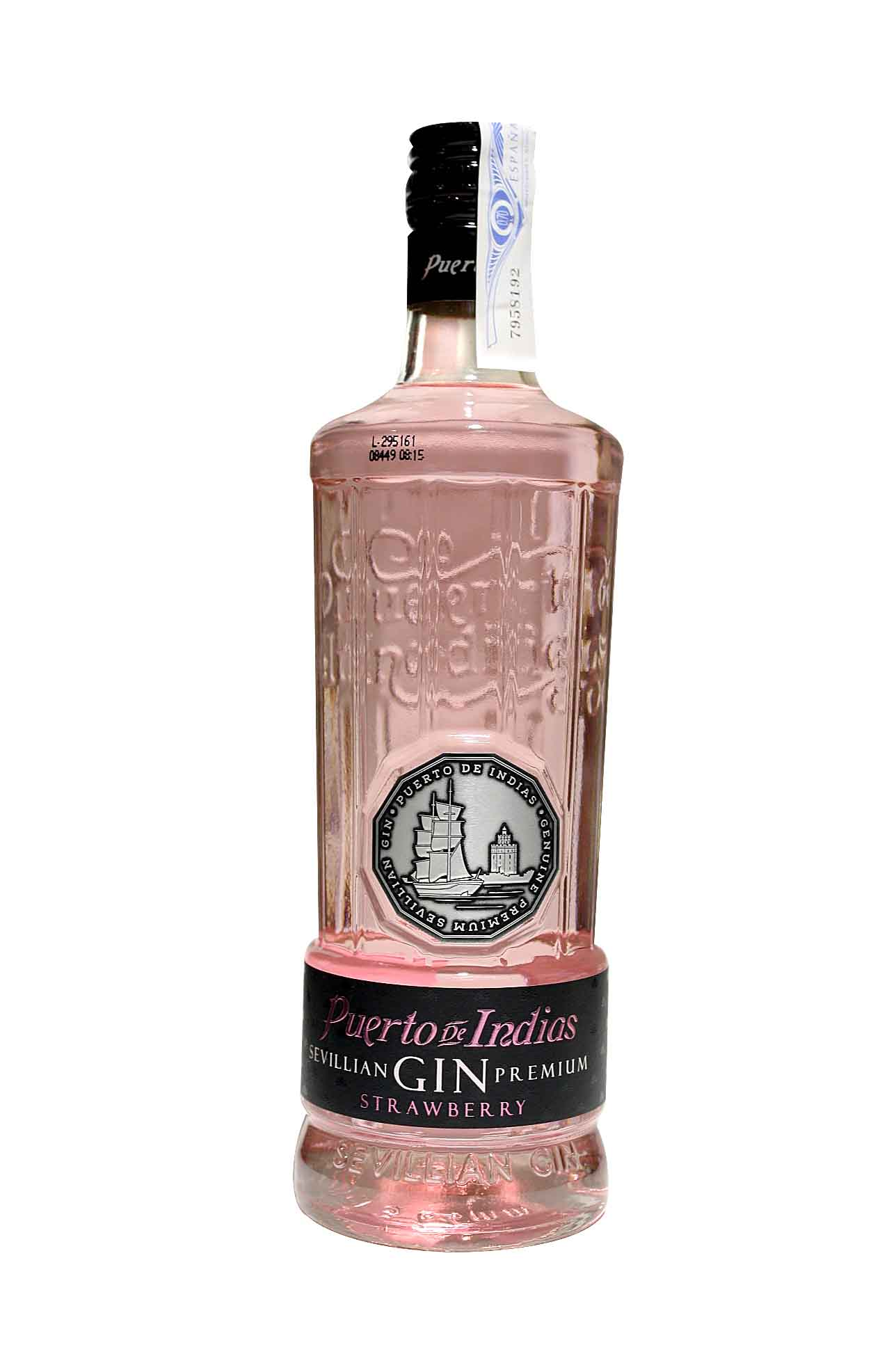 Strawberry gin Puerto de Indias