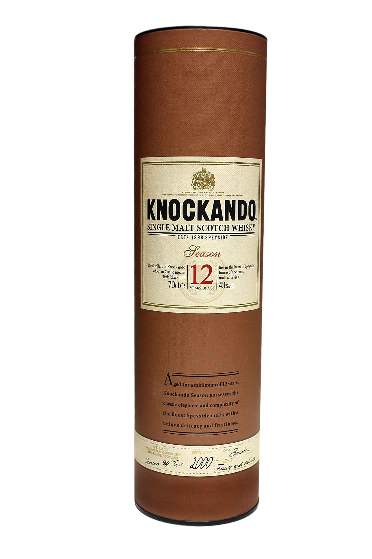 Whisky knockando 12 years