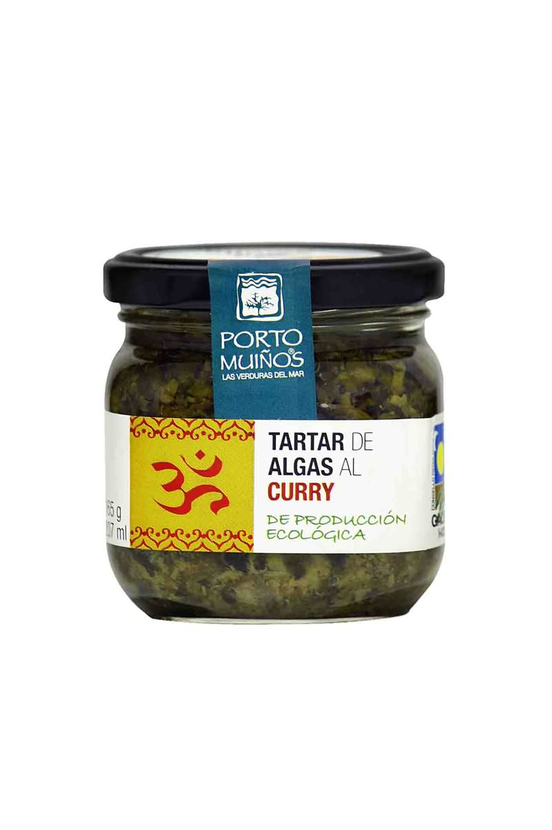 Tartar de algas al curry ecológico